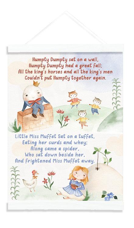 Nursery - Humpty & Miss Muffet