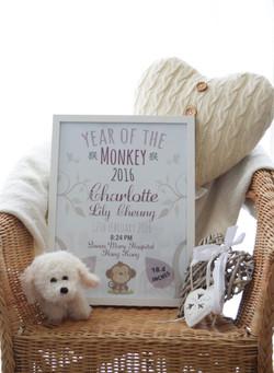 baby girl monkey tree6