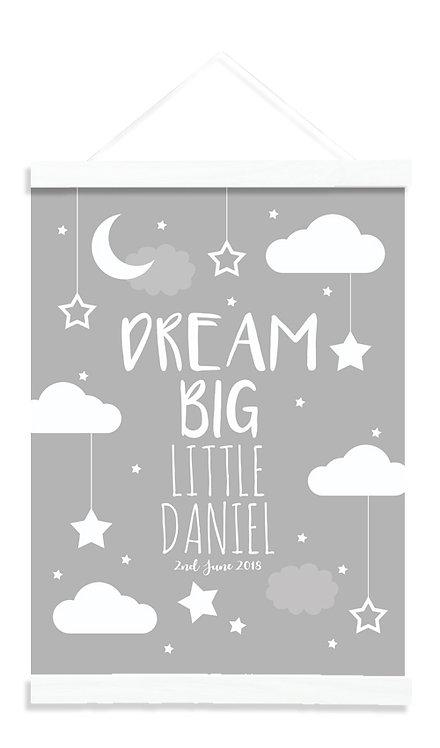 Dream Big Grey