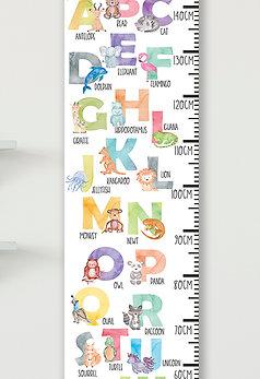 Watercolour Animal Alphabet