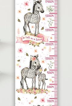 Floral Zebras