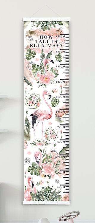 Flamingo & Flowers