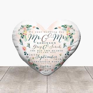 Wedding Heart - Summer Flowers