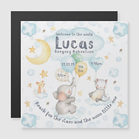 Sweet Lullaby Blue Magnet