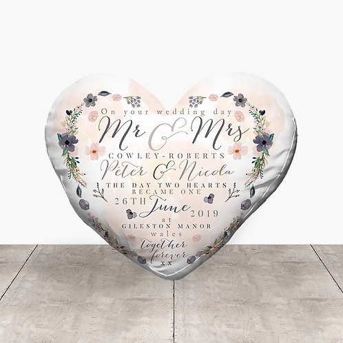 Wedding Heart - Flowers