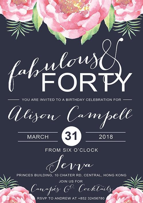 Birthday Fabulous Flowers