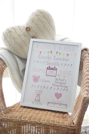 Personalised invitations, announcements and prints based in Hong Kong
