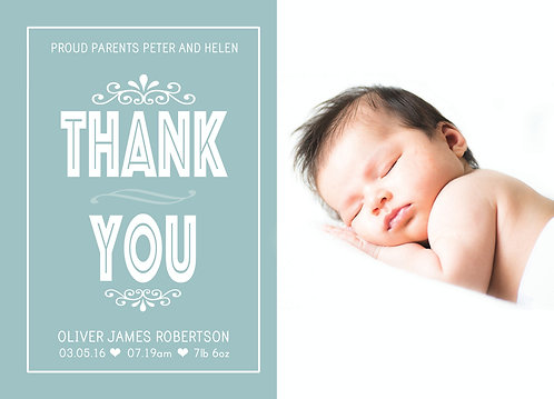 Thank You Baby Boy Photo