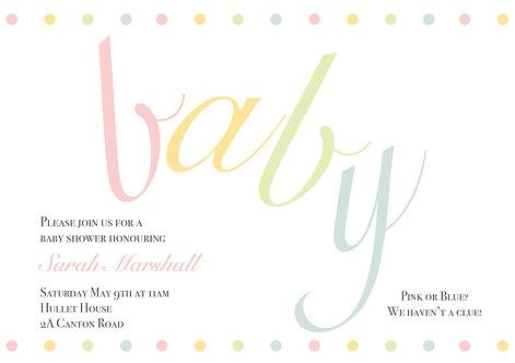 Baby Pastel Dots