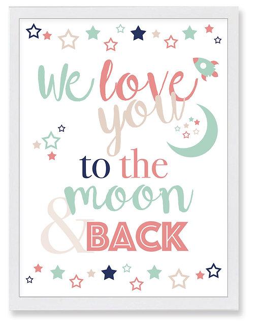 Moon & Back Girl