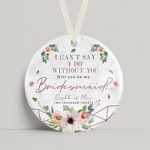 Wedding - Bridesmaid Rose Gold