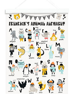 Scandi Animal Alphabet