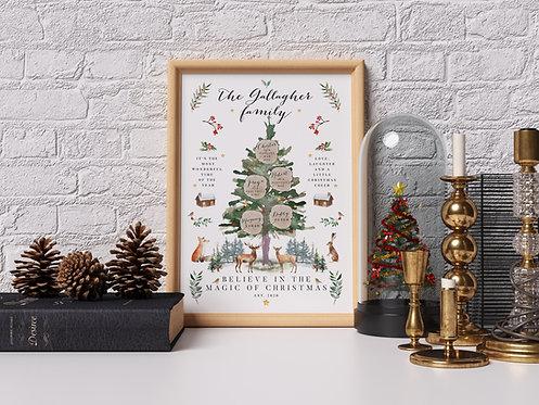 Christmas Tree - Woodland