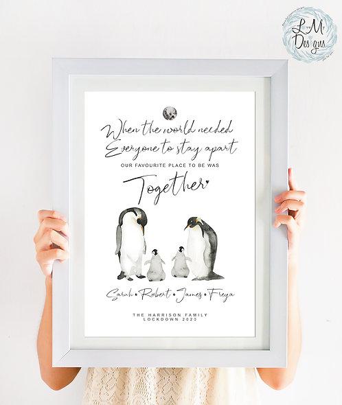 Lockdown - Penguin Family