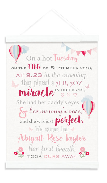 Baby Girl Miracle