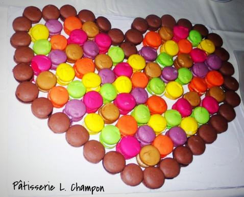 Coeur en macaron N°2
