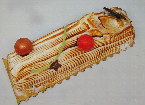 Bûche Traditionnelle fruits - Portion ou bûche