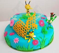 Maya l'abeille framboisier 2.JPG