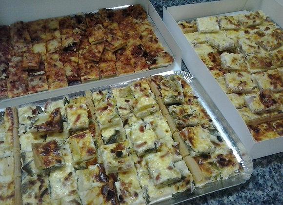 Tartes salées et pizzas - Plaques