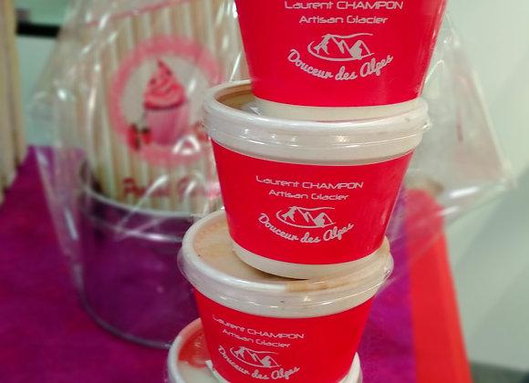 Petits pots individuels de glaces & sorbets