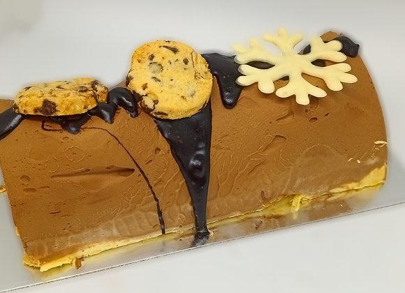 Bûche glacée - Cookies
