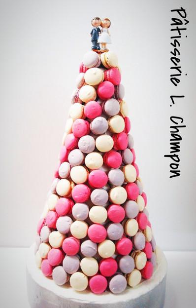 Cône macarons N°2