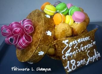 Boite de macarons N°138