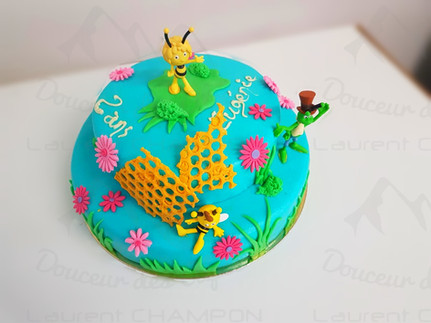 Maya l'abeille Framboisier.JPG