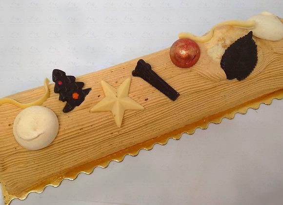 Bûche Traditionnelle praliné - Portion ou bûche