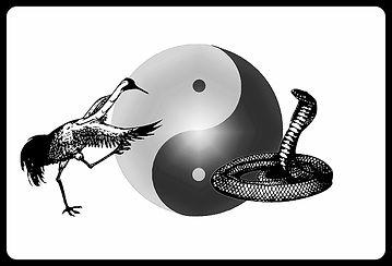 Logo - Crane and Snake