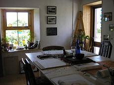 Cottage studio/reading room
