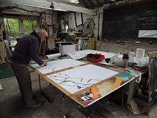 Artist Breda Burns