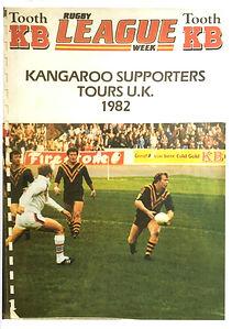 Kangaroos Supporters Tours UK 1982.JPG