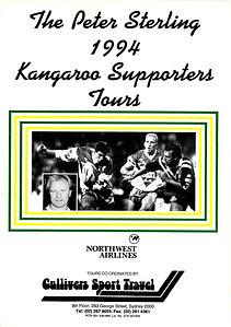 Kangaroos Supporters Tours UK 1994.JPG