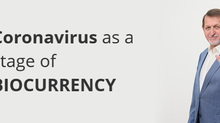 Coronavirus as a stage of BIOCURRENCY