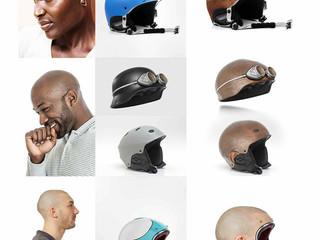 Ultra-Realistic Human Helmet