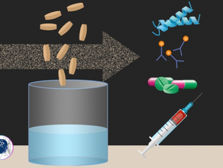 Create Biopharmaceuticals by simply Adding Water