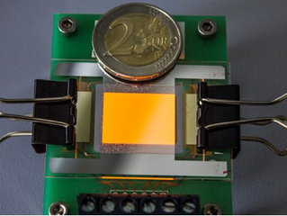 Functional OLED Electrodes from Graphene Created for the First Time
