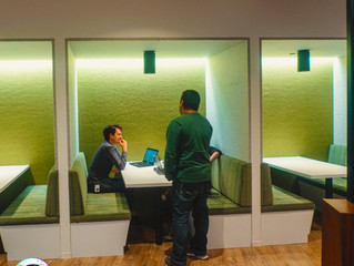 Largest Private-Equity Firm in the World Provides Casual Work Space for employees