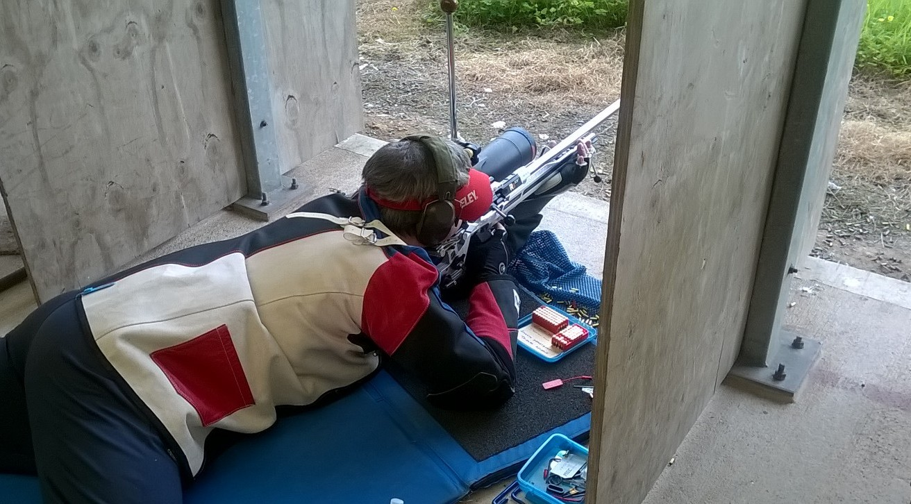 PRONE SHOOTING ON THE 50 METRE RANGE