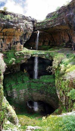 Водопад, Либанон