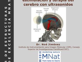 Hologramas acústicos para estimulación y terapia del cerebro con ultrasonidos