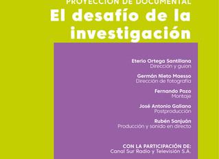 """Presentación del documental """"El desafío de la investigación"""", de Eterio Ortega, sobre la i"""