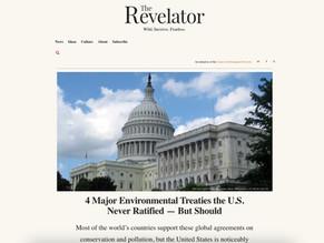 "Maria Ivanova's input at ""4 Major Environmental Treaties the U.S. Never Ratified - But should"""
