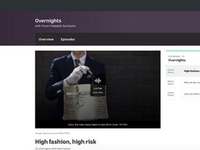High fashion, high risk