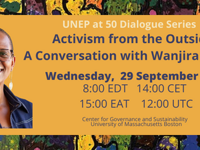 Join us September 29th! A Conversation with Wanjira Mathai