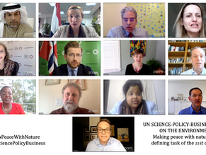 Environmental Multilateralism: UN Science-Policy-Business Forum reflects #UNEA5