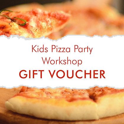 Kids Pizza Party Workshop Gift Voucher