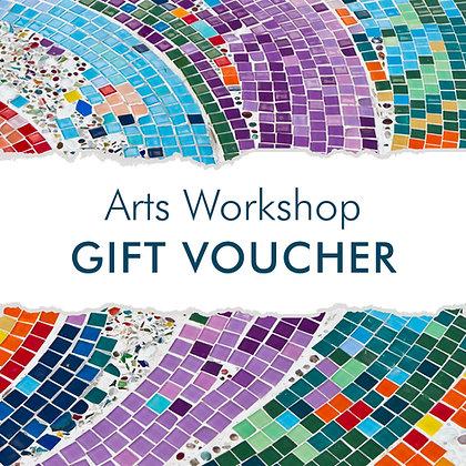 Arts Workshop Gift Voucher