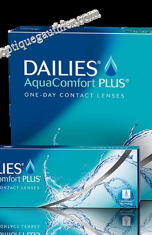 Dailies AquaComfort PLUS 30 lentilles